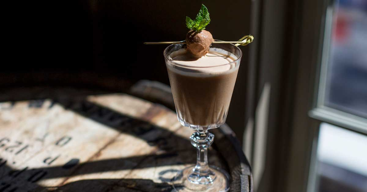 Mountain Chocolate Cocktail