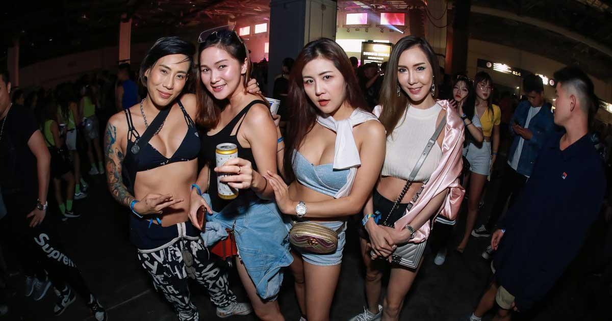 Dunia Malam Chiang Mai, Thailand