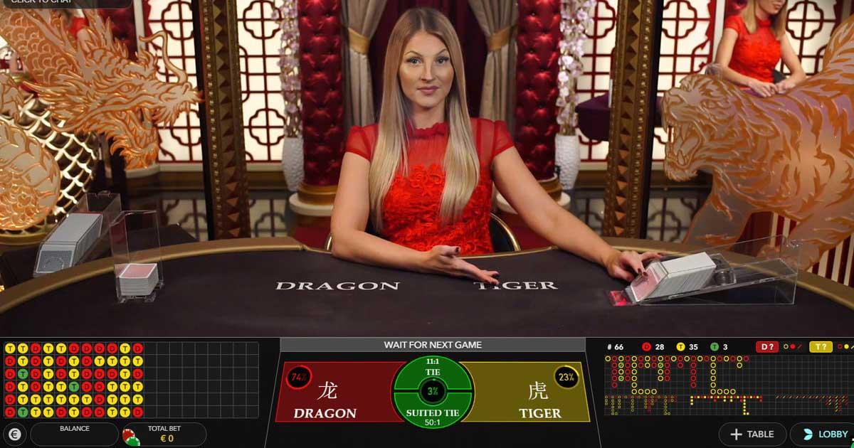 Judi Live Kasino Dragon Tiger Online