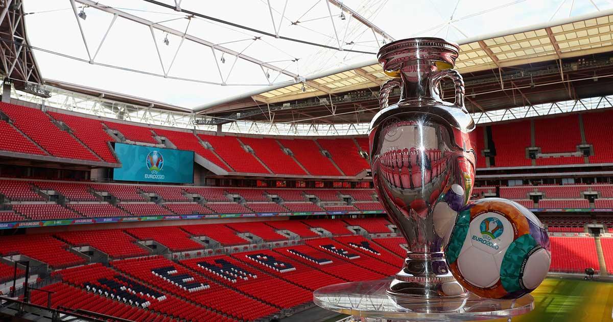 Stadion Wembley London yang akan dipakai final piala Eropa EURO 2020