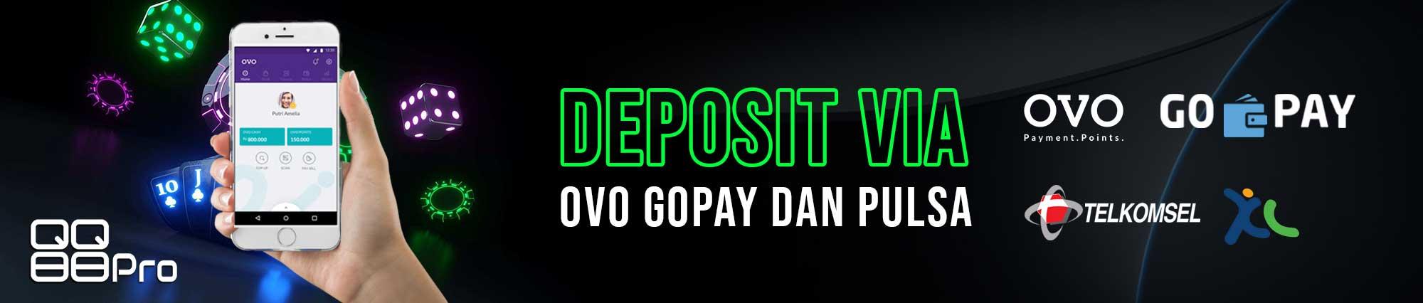 QQ Slot Deposit Pulsa Ovo Gopay Dana