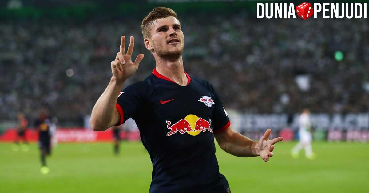 Timo Werner striker RB leipzig asa Jerman