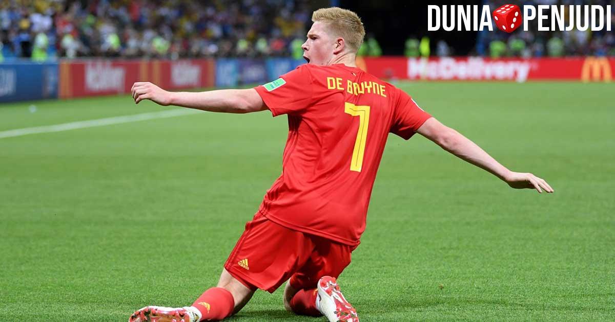 Kevin De Bruyne pemain timnas Belgia mengkritik EURO 2020