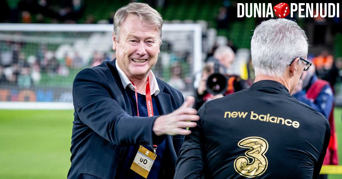 Pelatih timnas Denmark di Piala Eropa EURO 2020 Age hareide