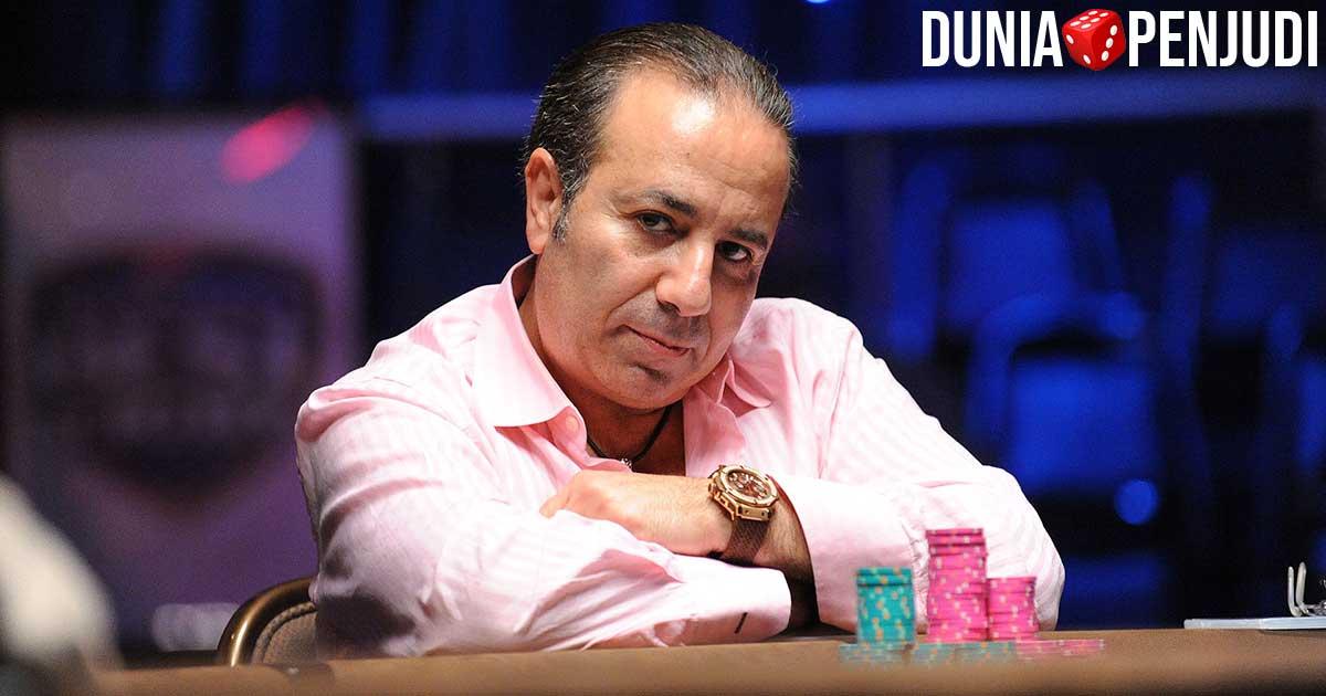 Penjudi Poker kaya raya Sam Farha