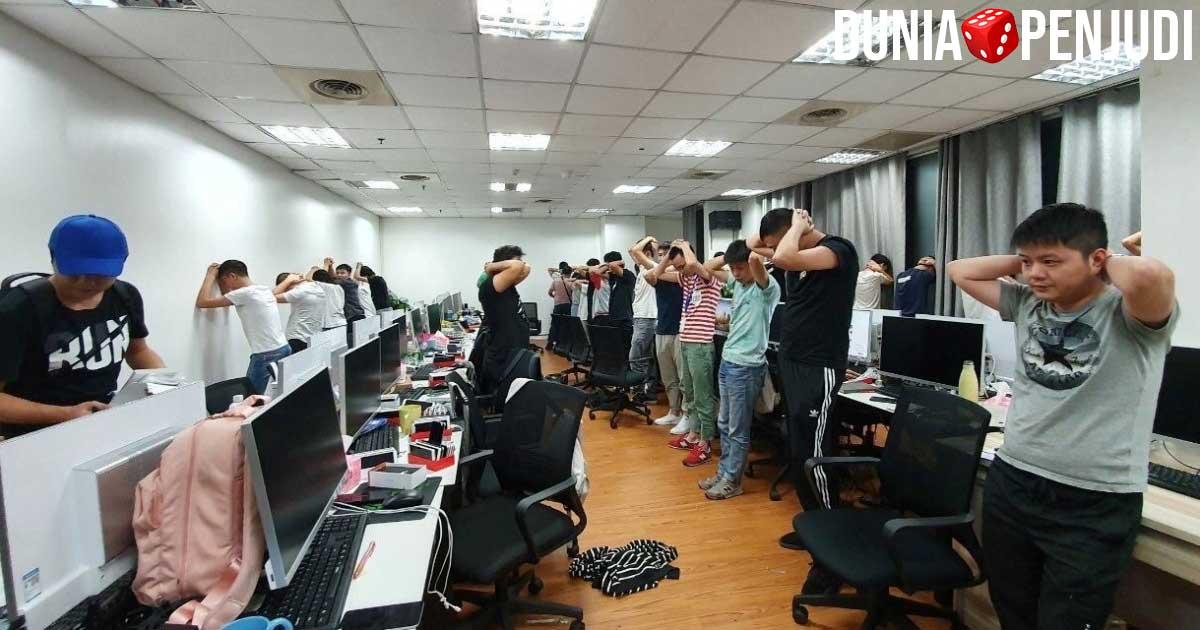 Pekerja judi online ilegal asal China di Manila