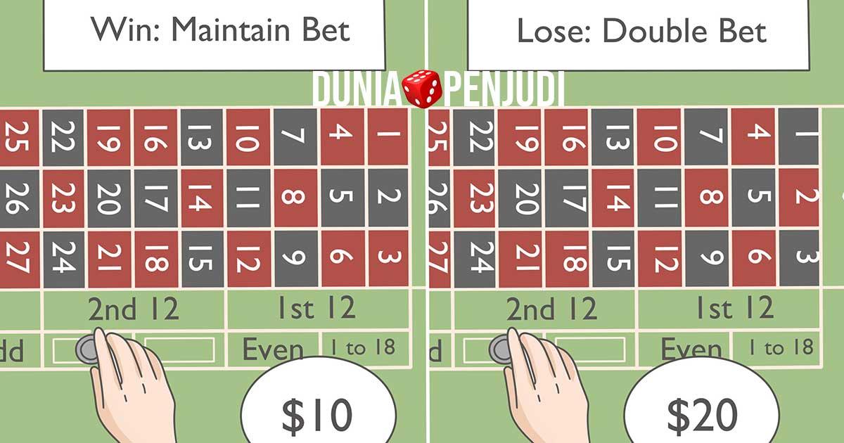 cara menang judi roulette online