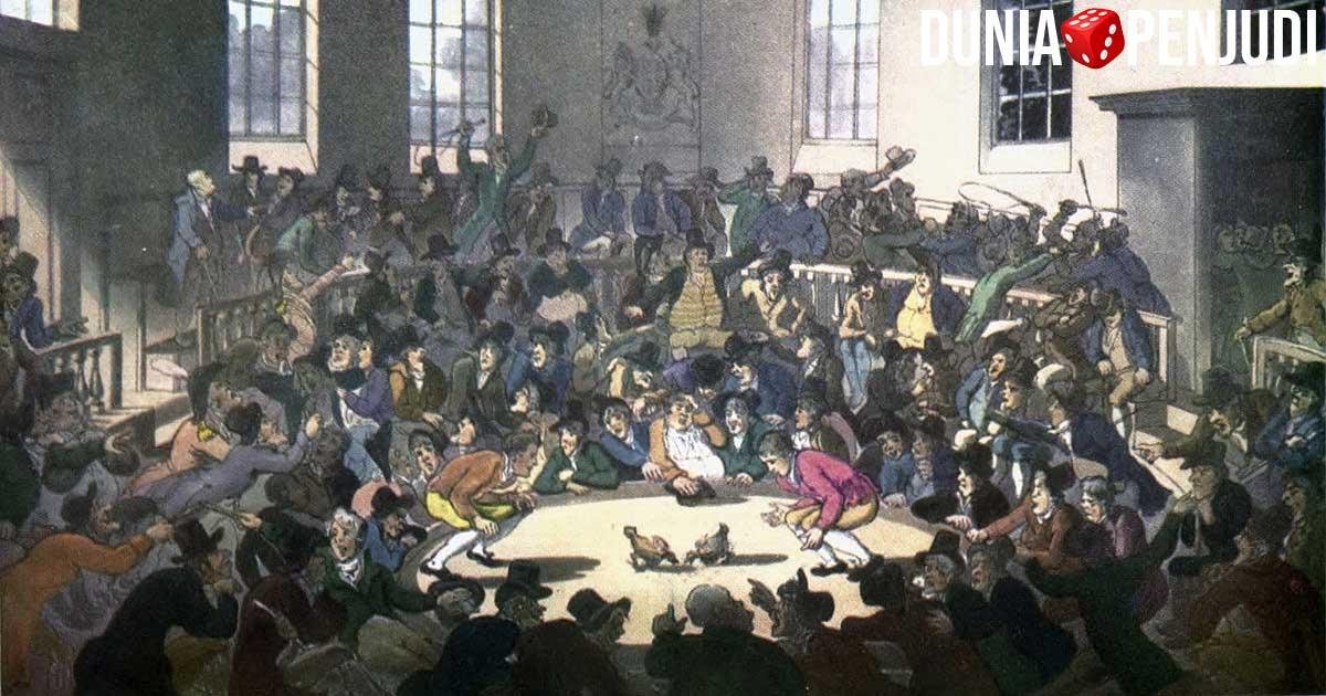 Sejarah judi sabung ayam di dunia
