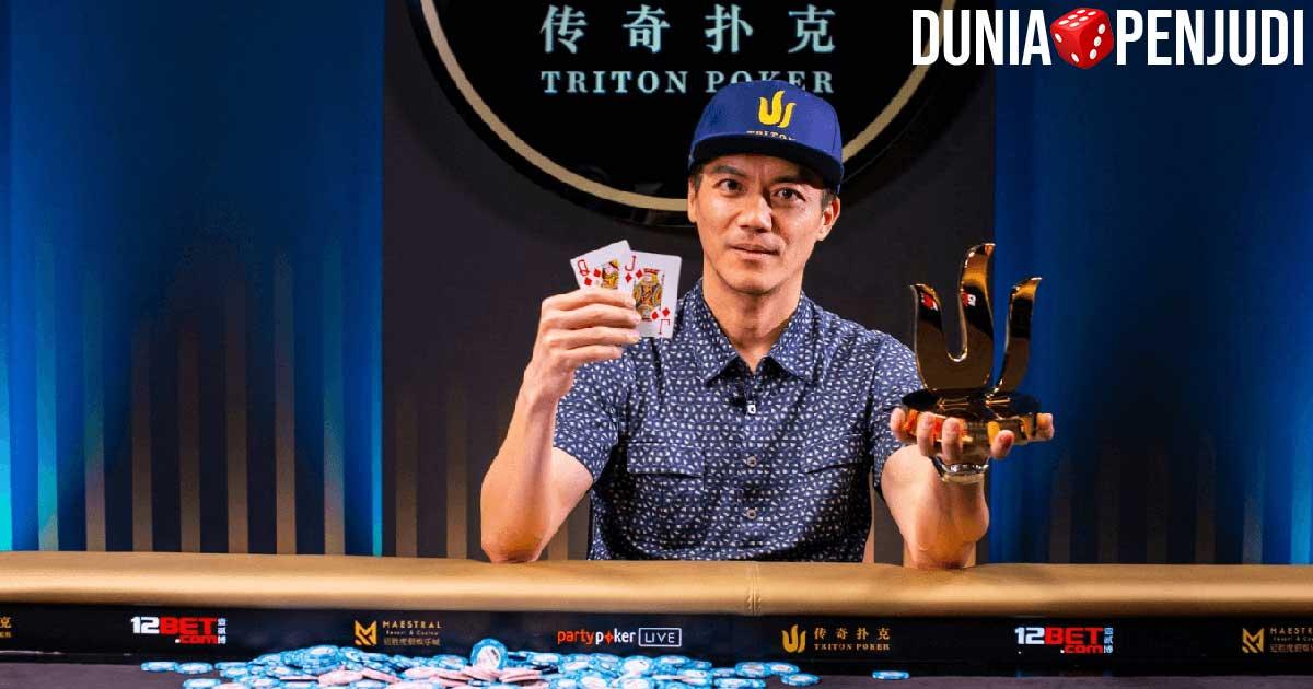 John Juanda, pemain poker kaya raya asal Indonesia