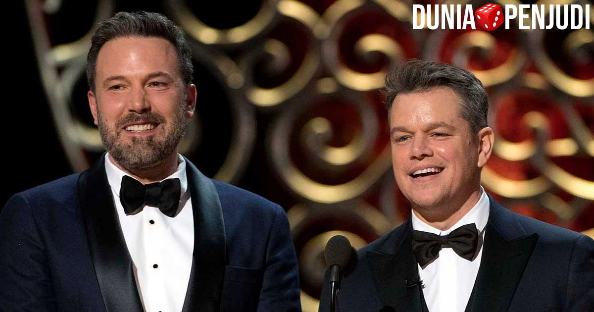 Ben Affleck dan Matt Damon mengadakan turnamen poker online untuk pandemi COVID19