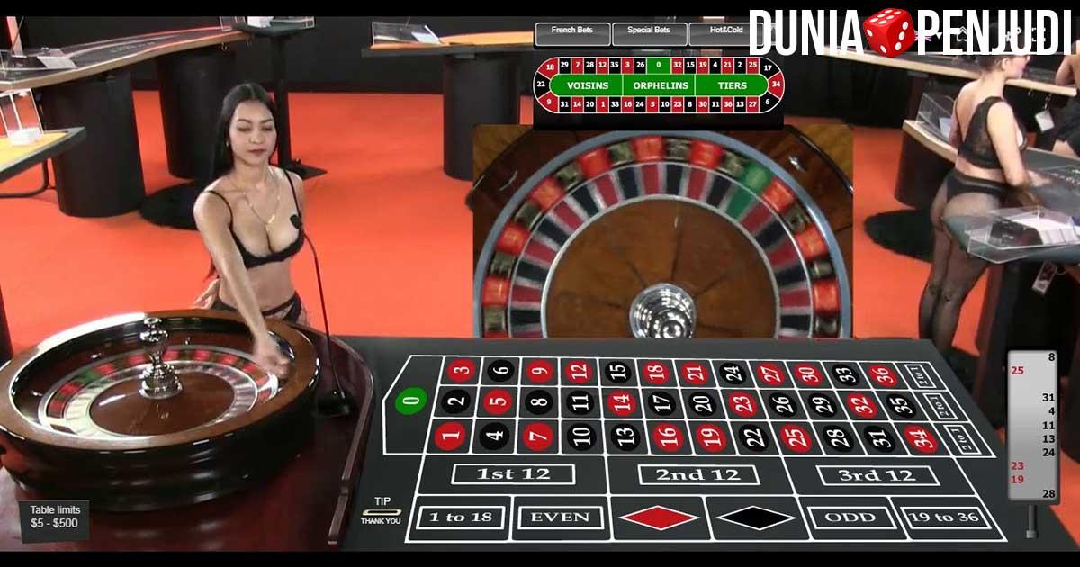 Panduan bermain judi roulette online
