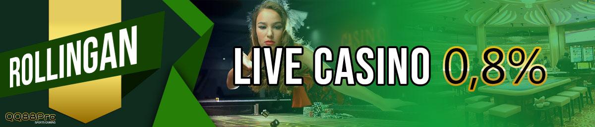 Komisi Rolingan Live Casino - QQ88Pro