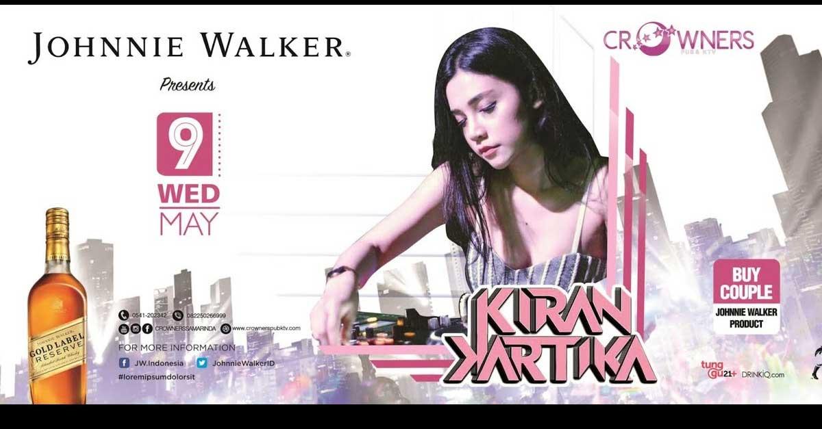 DJ Kiran Kartika, Ratunya Disc Jockey Yang Penuh Pesona