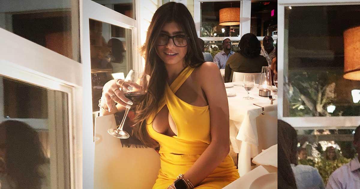 Mia Khalifa sang bintang porno legendaris asal lebanon