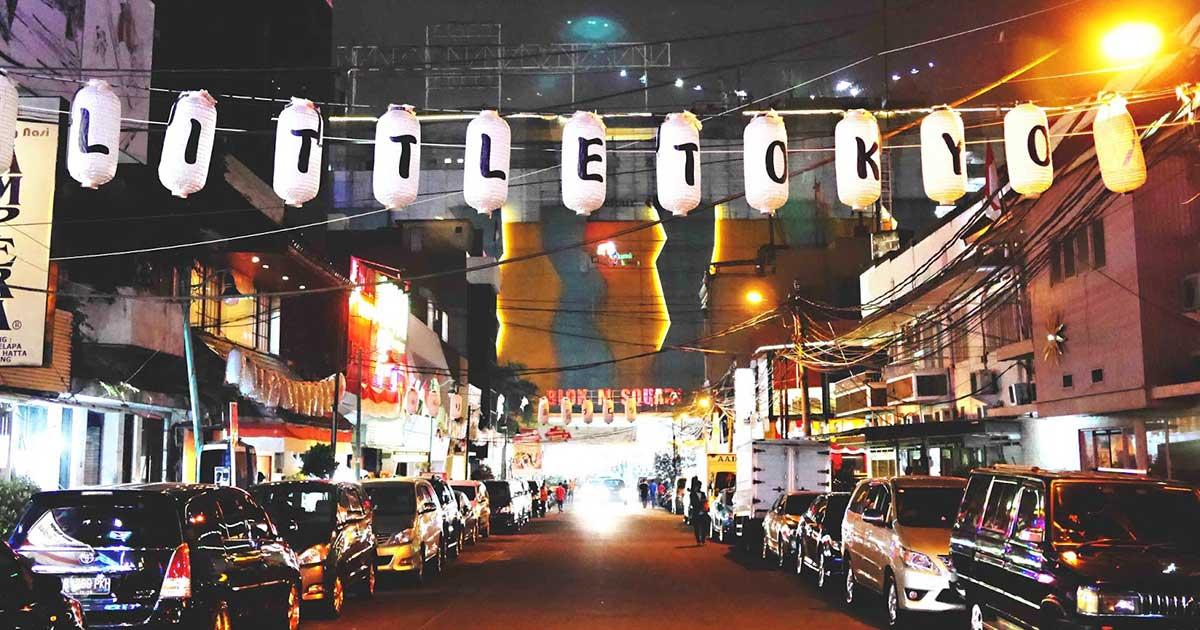 Suasana Little Tokyo, Blok M, Jakarta Selatan