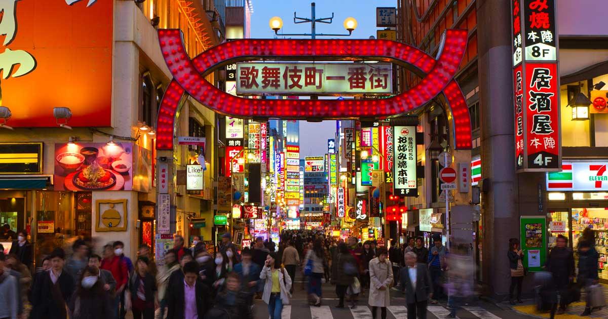 Panduan wisata seputar dunia malam di tokyo jepang