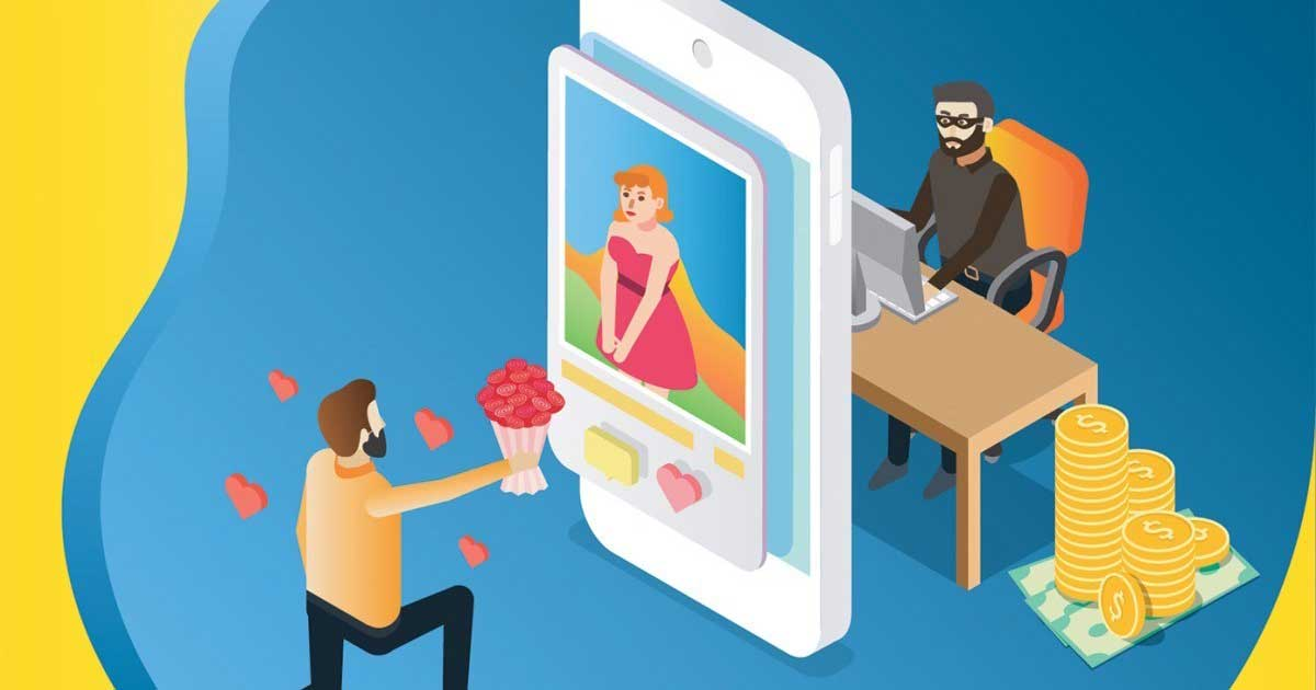 Kejahatan yang marak di aplikasi kencan online