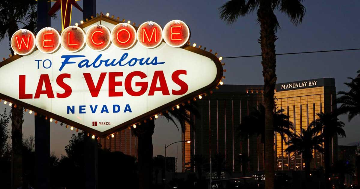 matinya dunia malam di Las Vegas