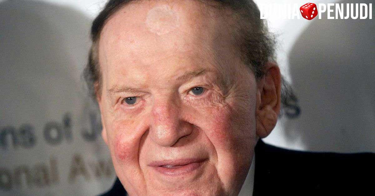 Sheldon Adelson–Rp.512 Triliun