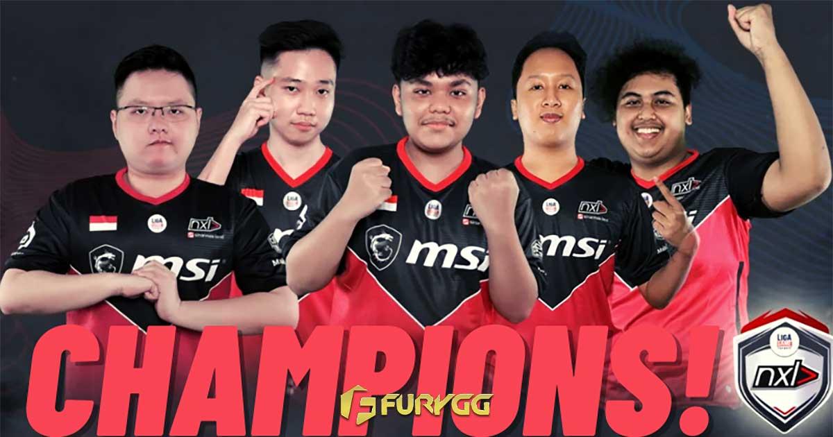 NXL Ligagame Juarai VALORANT First Strike Indonesia