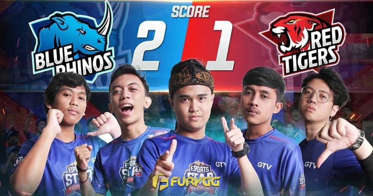 Blue Rhinos Juara Esport Star Indonesia