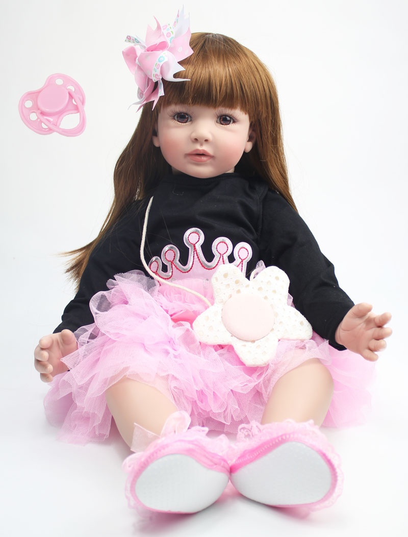 Toys & Hobbies 10 Inch 28cm Full Silicone Reborn Baby Dolls Alive Lifelike Real Dolls Mini Realistic Reborn Babies Toys For Girl Birthday Gift Reputation First