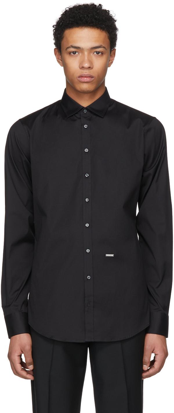 Dsquared2 Shirts Black Carpenter Shirt