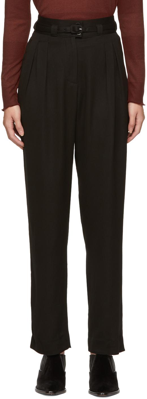 A.p.c. Belts Black Joan Trousers