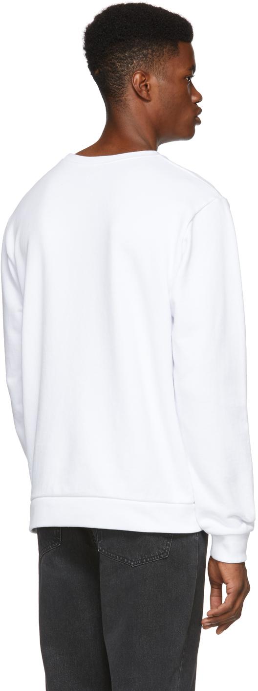 A.P.C. Sweatshirts White U.S. Vince Sweatshirt