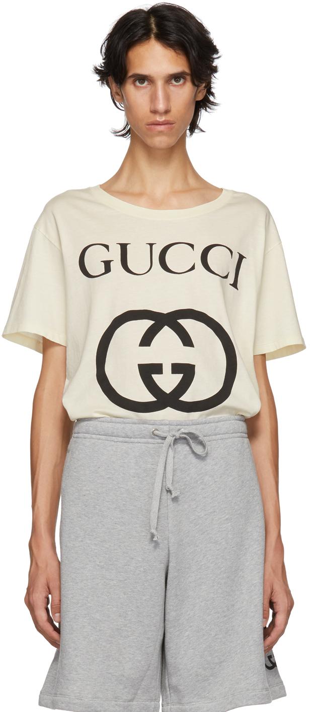 Gucci Shirts White New Logo T-Shirt