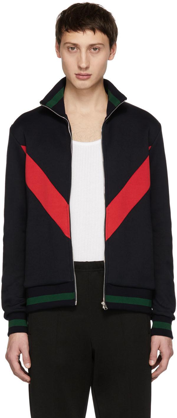 Stella Mccartney Navy Issac Jacket