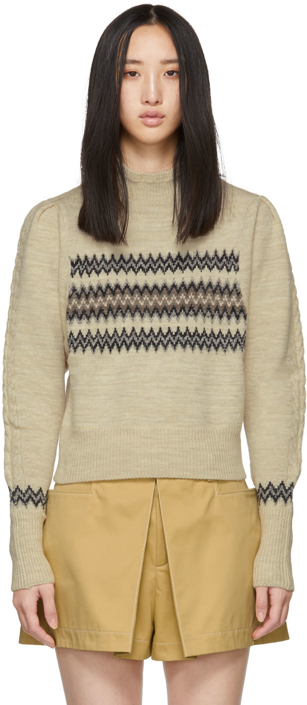 Isabel Marant Rings Off-White Wild West Demie Turtleneck