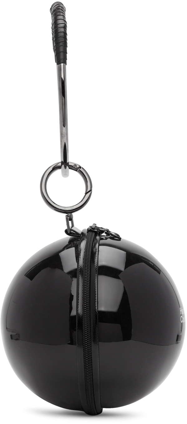 Marine Serre Clutch Black Dream Ball Bag