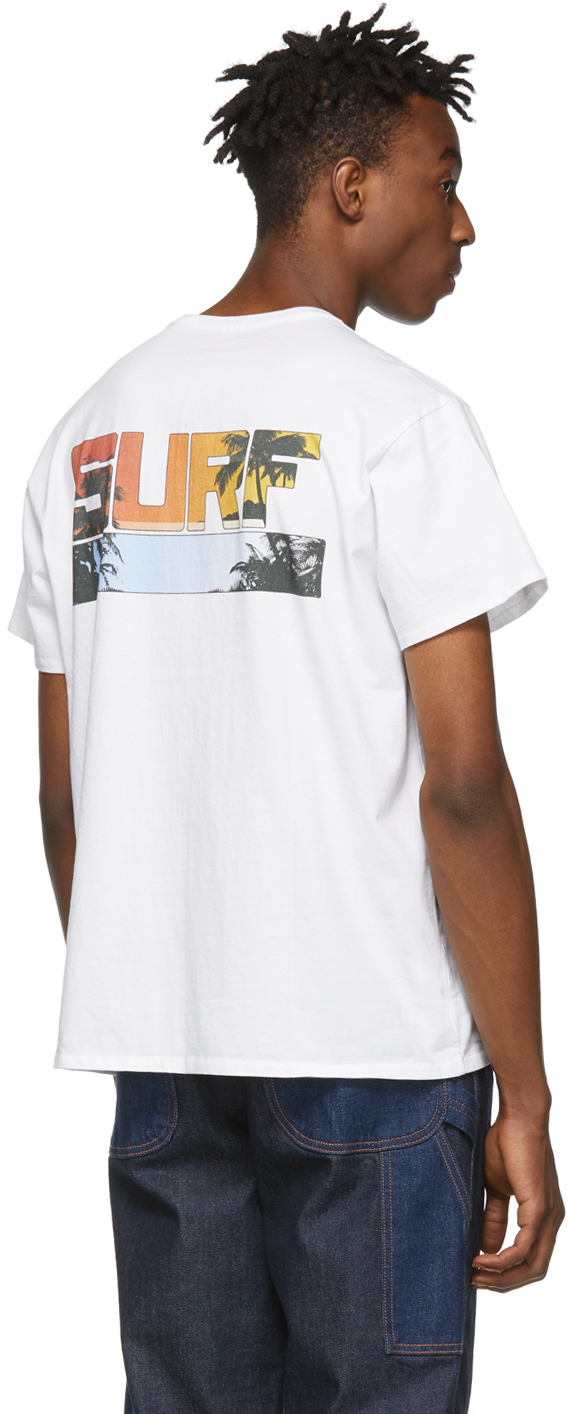 R13 T-shirts White Malibu Boy T-Shirt