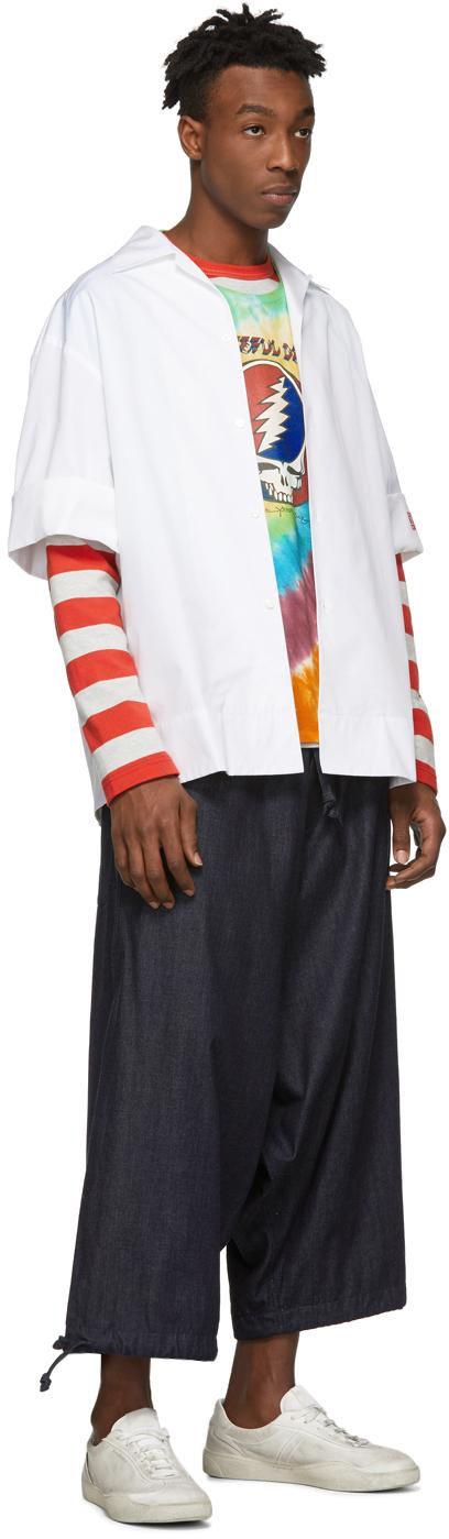 R13 T-shirts Multicolor Tie-Dye Grateful Dead Boy T-Shirt