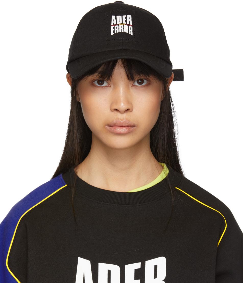 Ader Error Black Form Cap