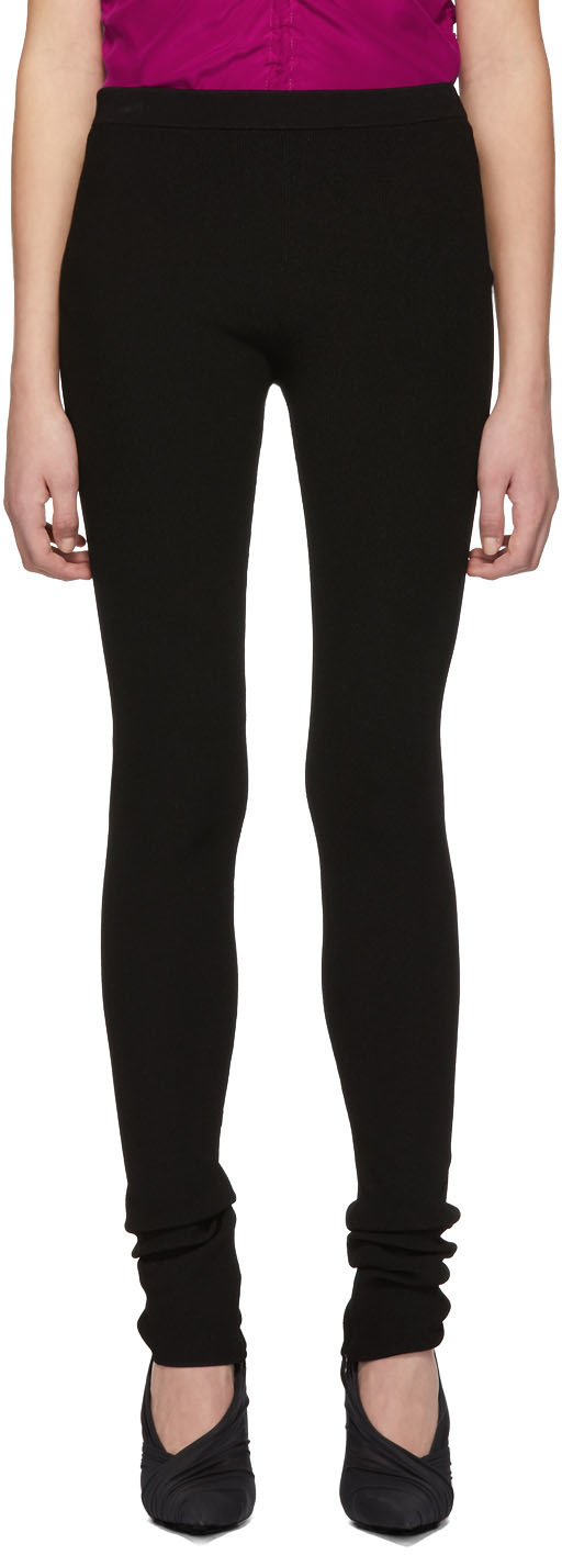 Helmut Lang Pants Black Parachute Leggings