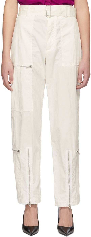 Helmut Lang Pants White Flight Trousers