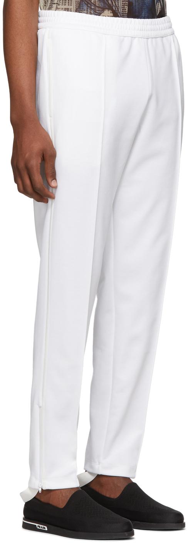 Helmut Lang Pants White Stirrup Track Pants