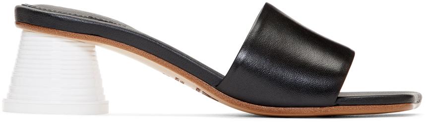 Mm6 Maison Margiela Shoes Black Expresso Cup Heel Sandals