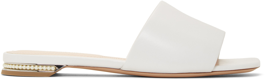 Nicholas Kirkwood Slippers White Casati Pearl Slides