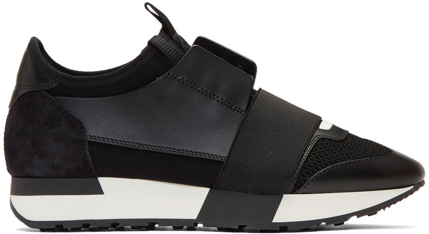 Balenciaga Sneakers Black Race Runner Sneakers