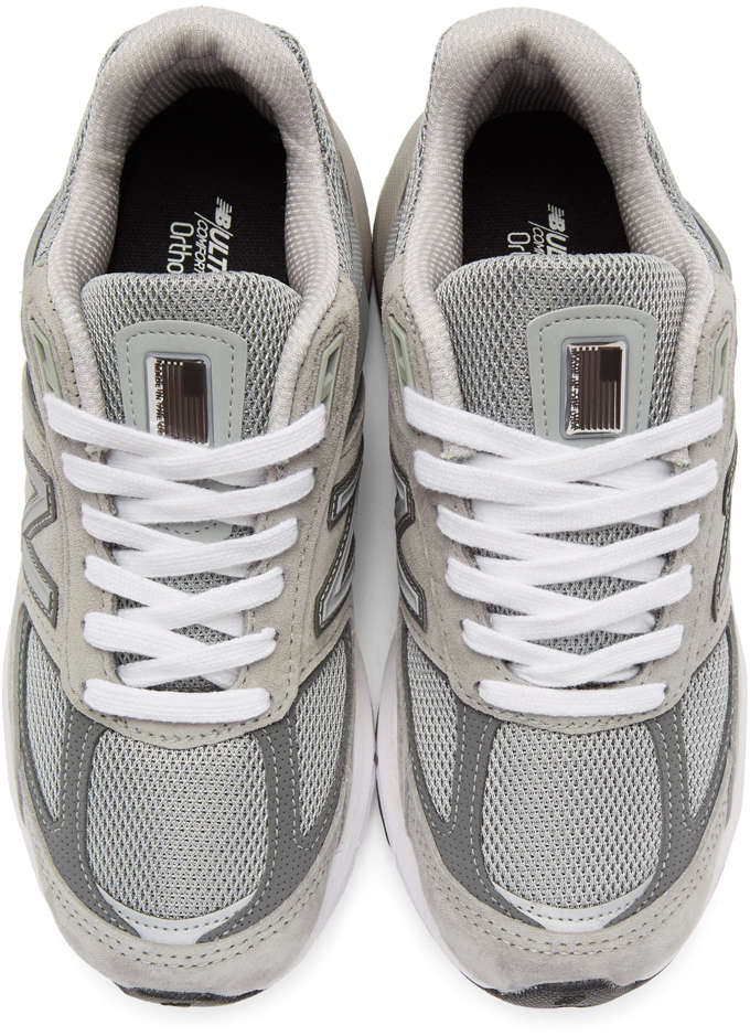 New Balance Sneakers Grey US Made 990 V5 Sneakers