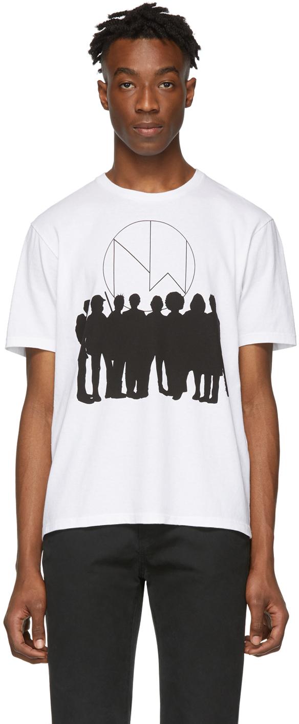 Undercover T-shirts White 'New Warriors' T-Shirt