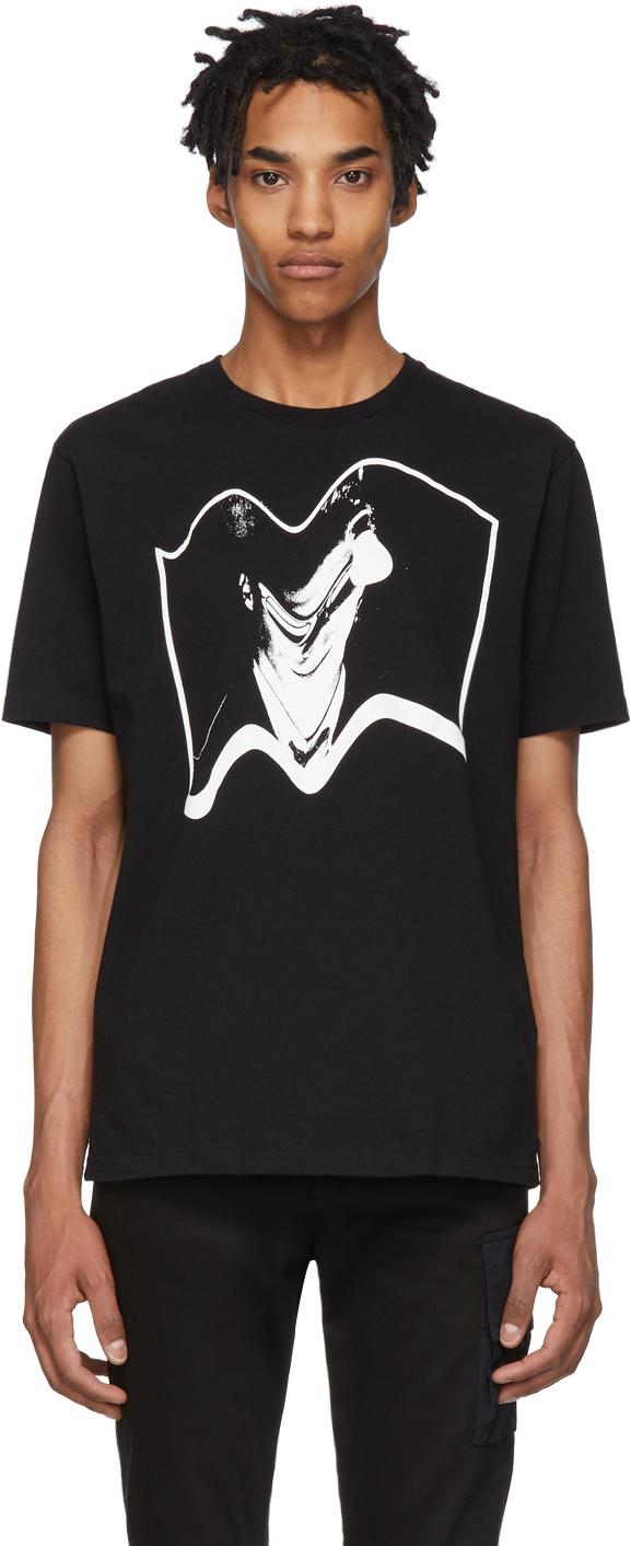 Undercover T-shirts Black Photo T-Shirt