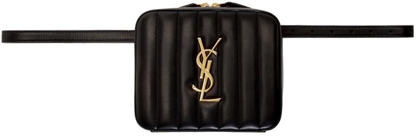 Saint Laurent Bags Black Vicky Belt Bag