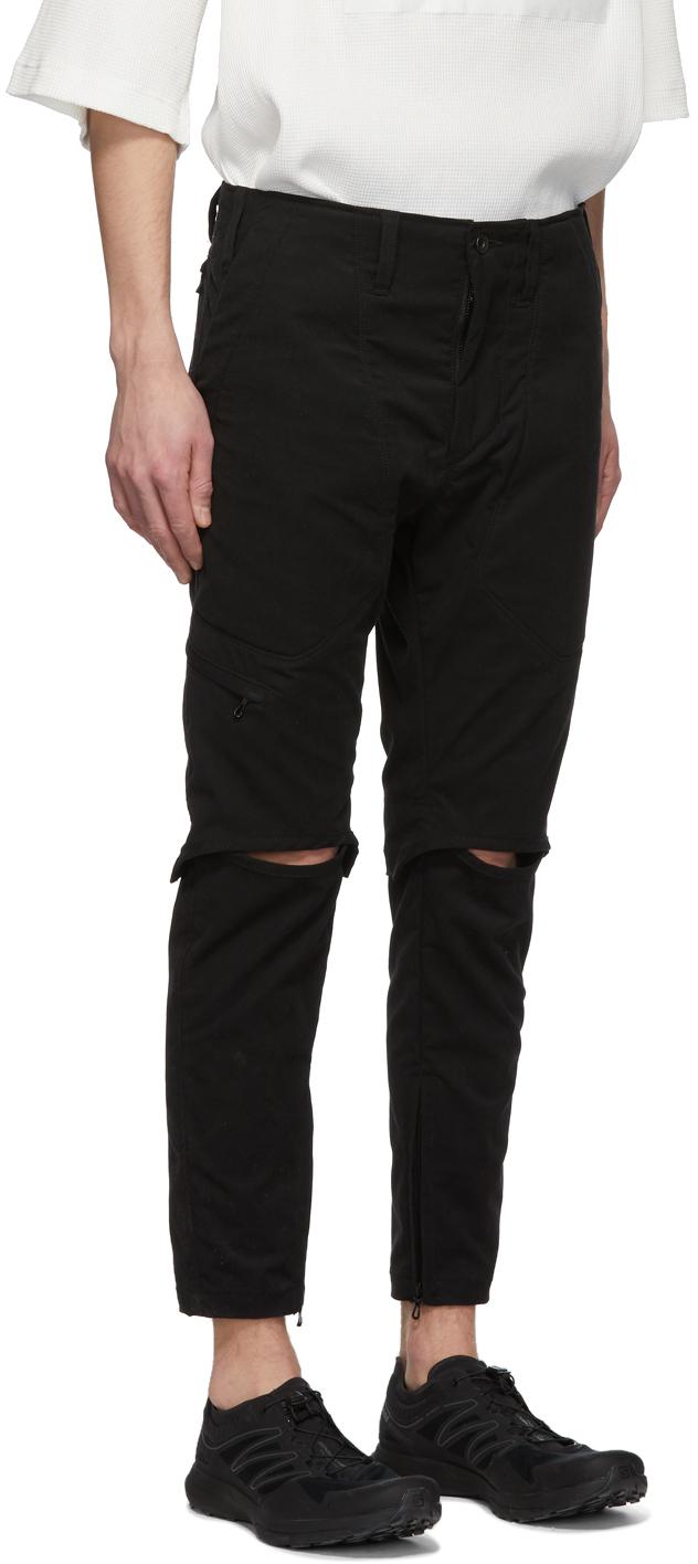 Julius Pants Black Twill Trousers