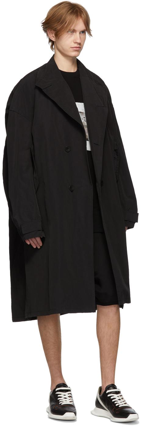 Julius Knits Black Waffle Knit T-Shirt