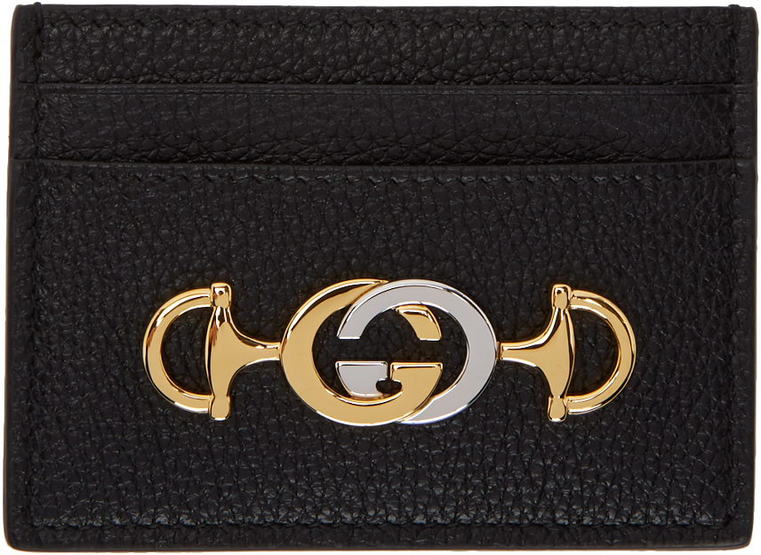 Gucci Accessories Black Zumi Card Holder