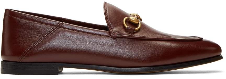 Gucci Loafers Burgundy Horsebit Loafers